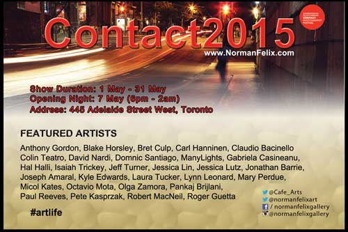 Contact Photo Festival 2015 poster